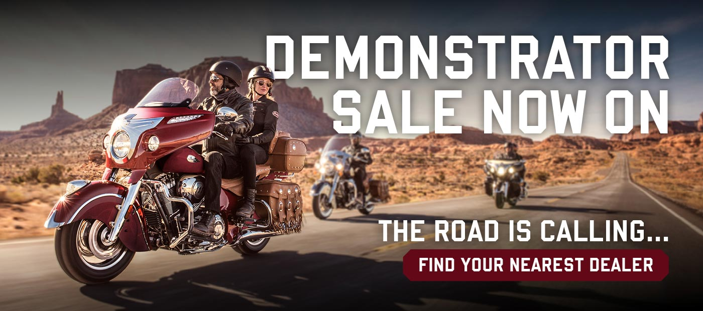 Demonstrator sale now on